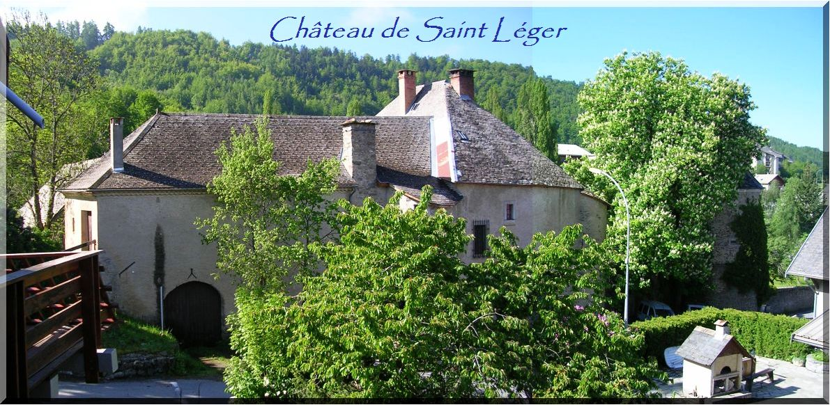 Château de Saint Léger les Mélèzes (2)