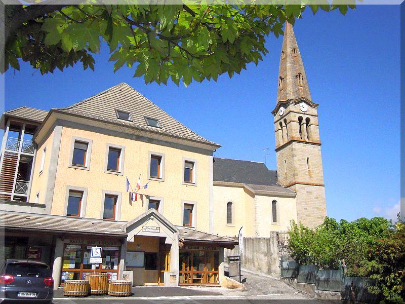 Mairie de St Léger les mélèzes