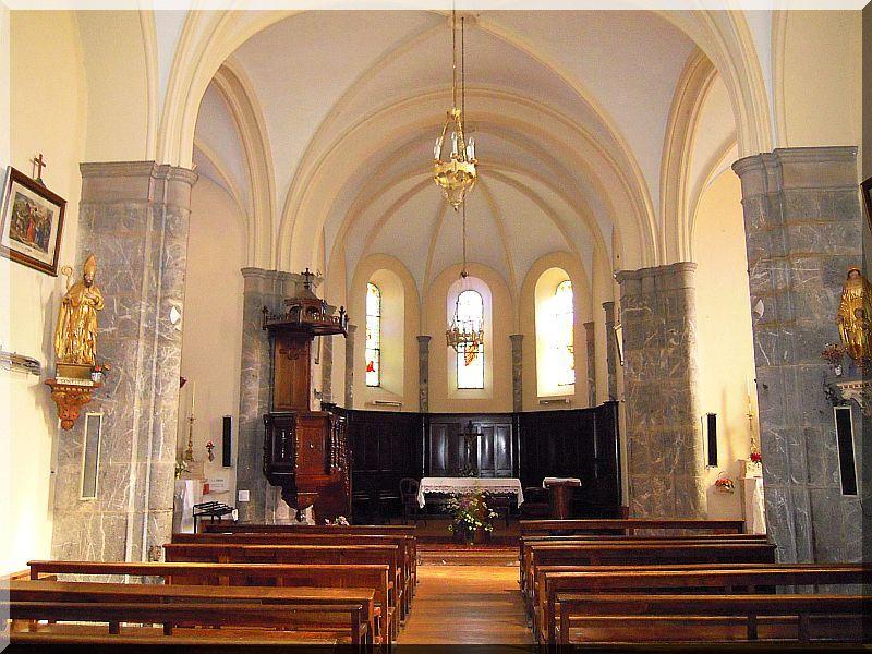 eglise Saint Leger les mélèzes
