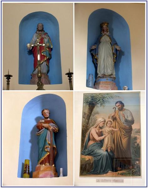 Statues chapelle des Aliberts