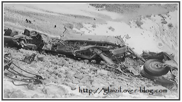 Accident Obiou 1950. Pélerins canadiens.3