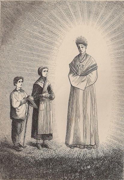 Apparition Notre Dame de La Salette (2)