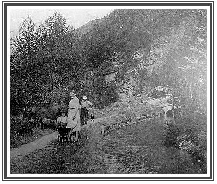 Canal pont du fosse