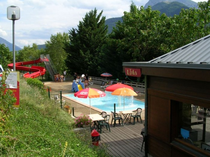 Corps camping du lac