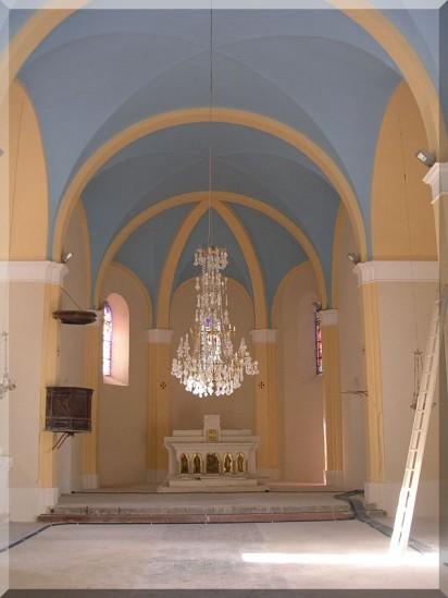 Glaizil , son église
