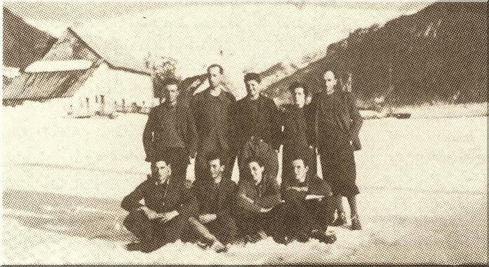 Groupe des Garnauds à Champoléon