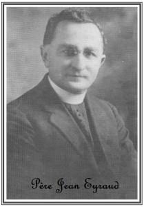 Monsignor Jean Eyraud à 40 ans