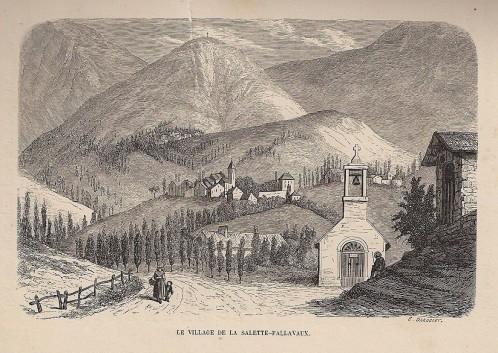 Pélerinage Notre Dame de La Salette 1852