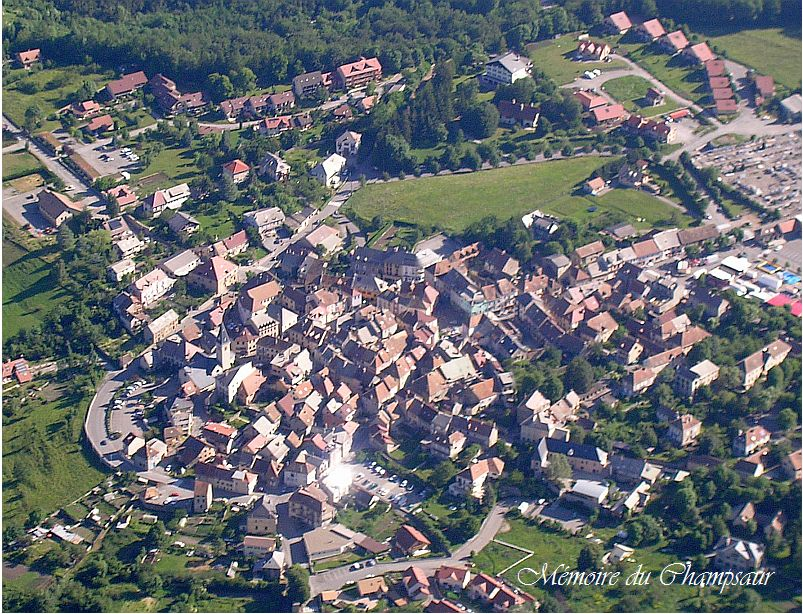Photo aerienne Saint Bonnet en Champsaur