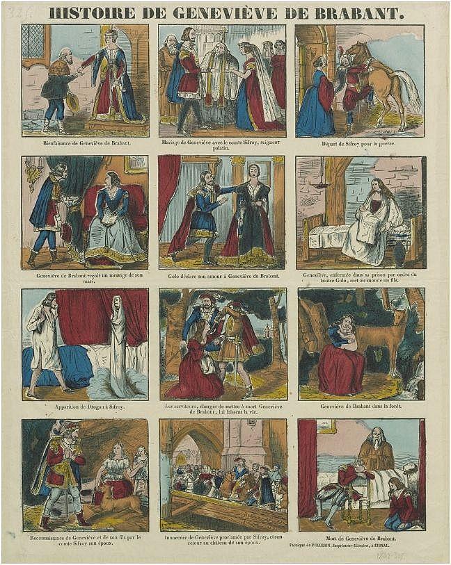 Histoire de Genevieve de Brabant